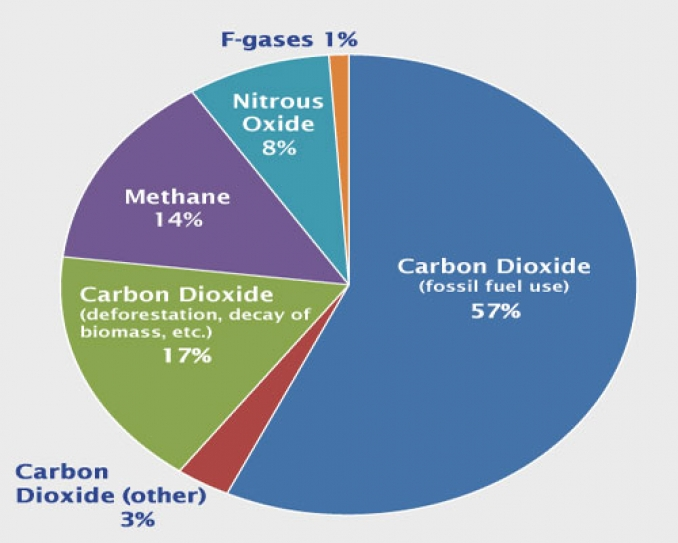UN Environment Programme states an increase in global green house gas emissions by 2020 (Emissions Gap report 2013)