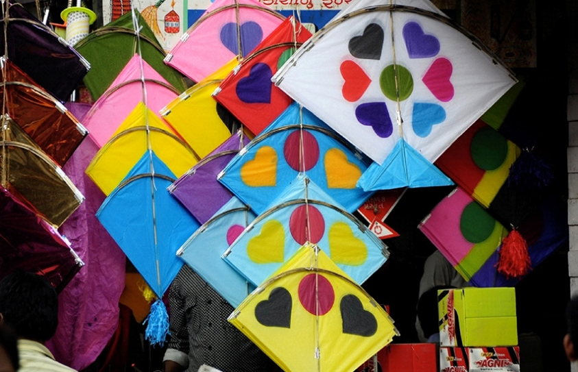 THE ROMANCE OF KITES