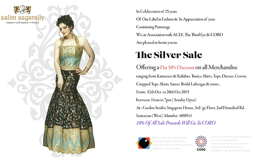 Salim Asgarally Silver Sale! Last Day Today!