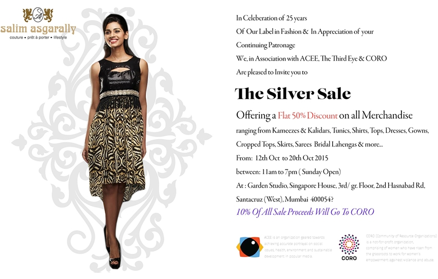 Salim Asgarally Silver Sale! 3 Days Remaining!