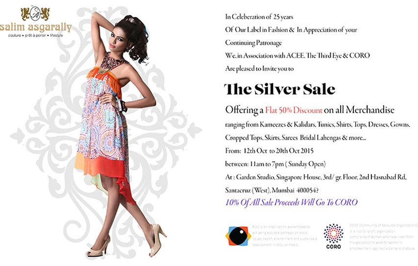 Salim Asgarally Silver Sale! 4 Days Remaining!