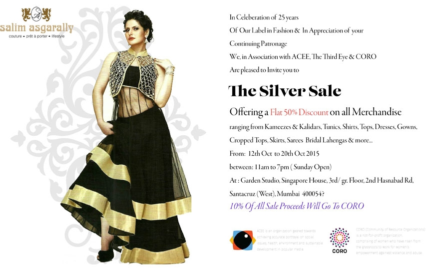 Salim Asgarally's Silver Sale! 6 Days Remaining!