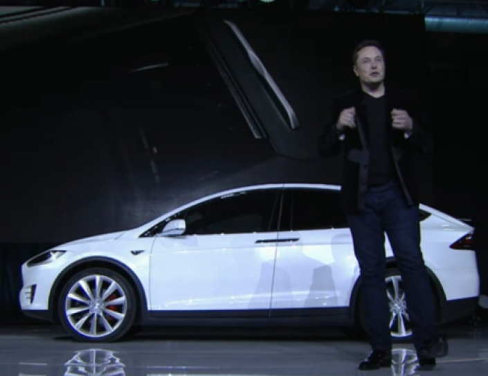 Tesla's Model X Is Now On Roads, And, Yes, It's Got Some Weird Features