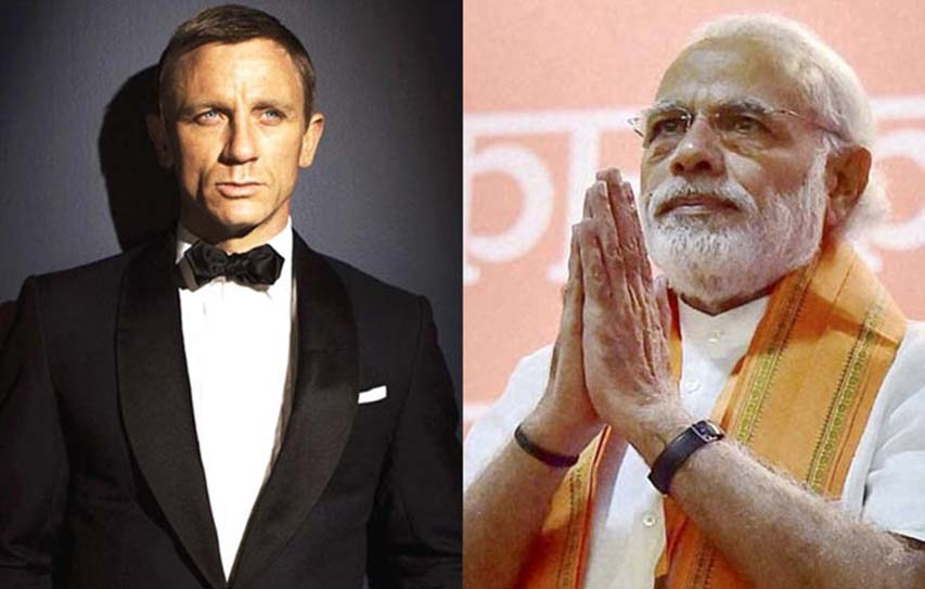 James Bond In India: Inside Daniel Craig's Itinerary, Meeting Modi And Football With Bollywood
