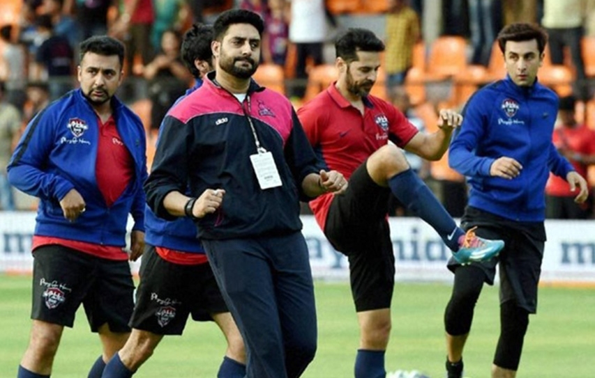 Cause Wins In Bollywood Vs Cricketers' Football Match