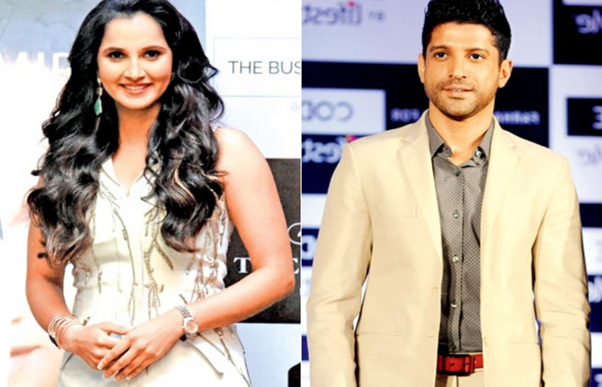 Sania Mirza, The New Campaigner For Farhan Akhtar's MARD