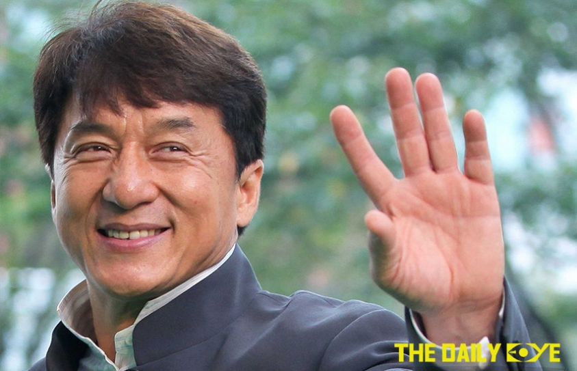 Jackie Chan's Helping Hand to the Blind