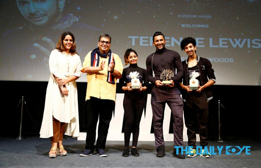 5th Veda session of Whistling Woods International: Terence Lewis