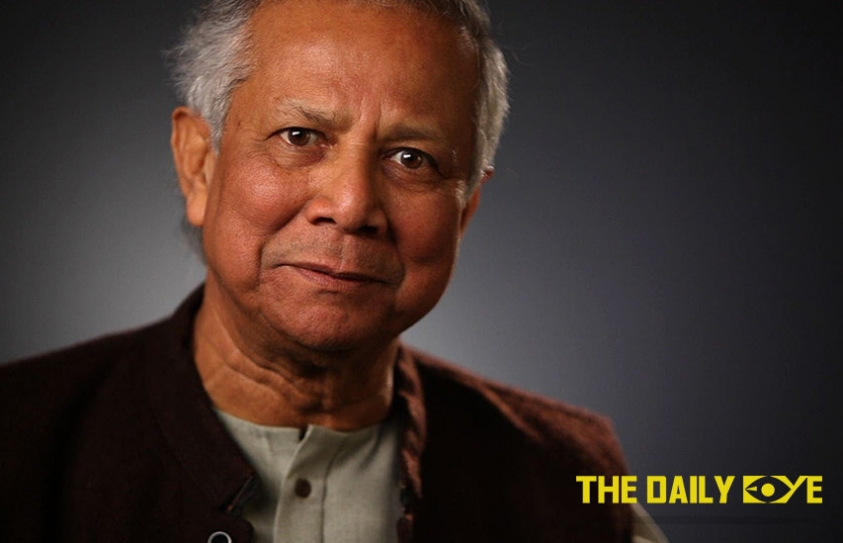 """Young People are not future leaders, they are Leaders already!"" says Muhammad Yunus"