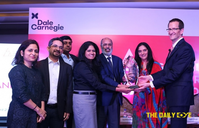 Axis Bank Wins Dale Carnegie Global Leadership Award 2017