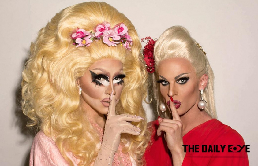 Drag Icons Trixie and Katya begin their new show 'The Trixie and Katya Show'