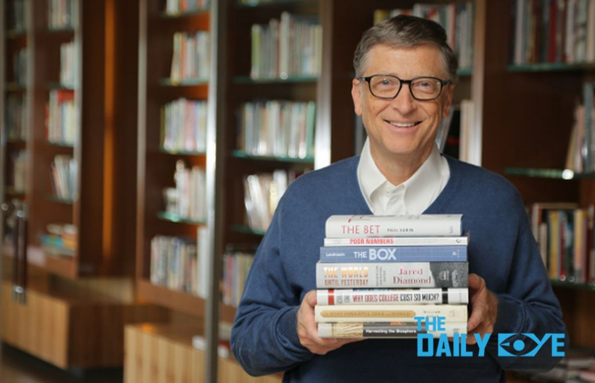 The Books on top of Bill Gates' List
