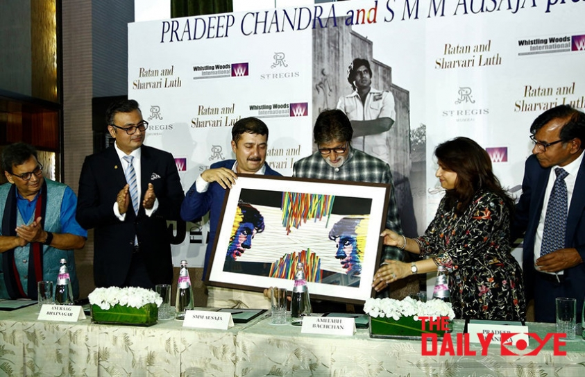 'Frames 75': Whistling Woods' Tribute to the legend Amitabh Bachchan
