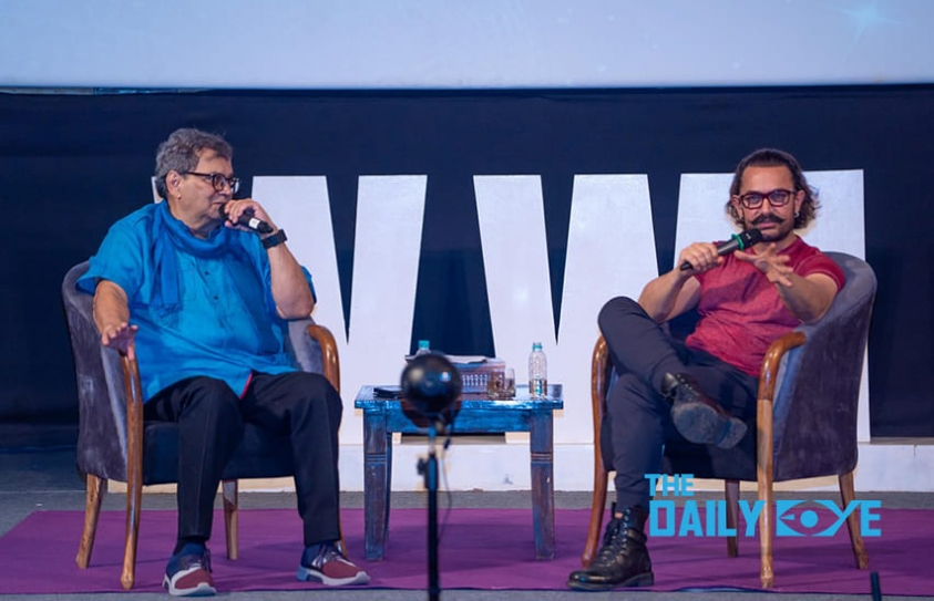 Never compromise on what you believe in, Aamir Khan at the 5th Veda session, hosted by WWI