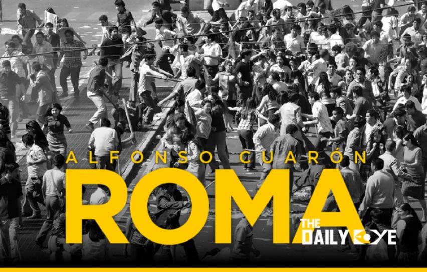 ผลการค้นหารูปภาพสำหรับ roma film poster