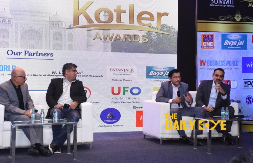 Entertainment Achievers shine at The World Marketing Summit India 2018