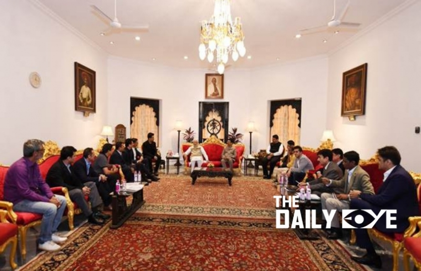 Bollywood Delegation meets PM Modi to discuss issues of the Media and Entertainment Industry