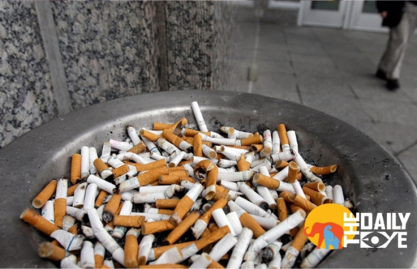 Cigarette Butts are not just killing you, but the Environment too