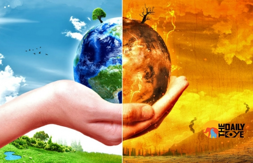 'Think beyond, solve different', ways to end the Climate woes