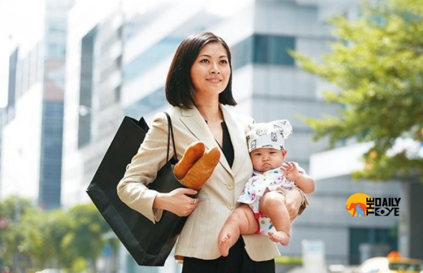 The burden of the overworked Japanese mothers