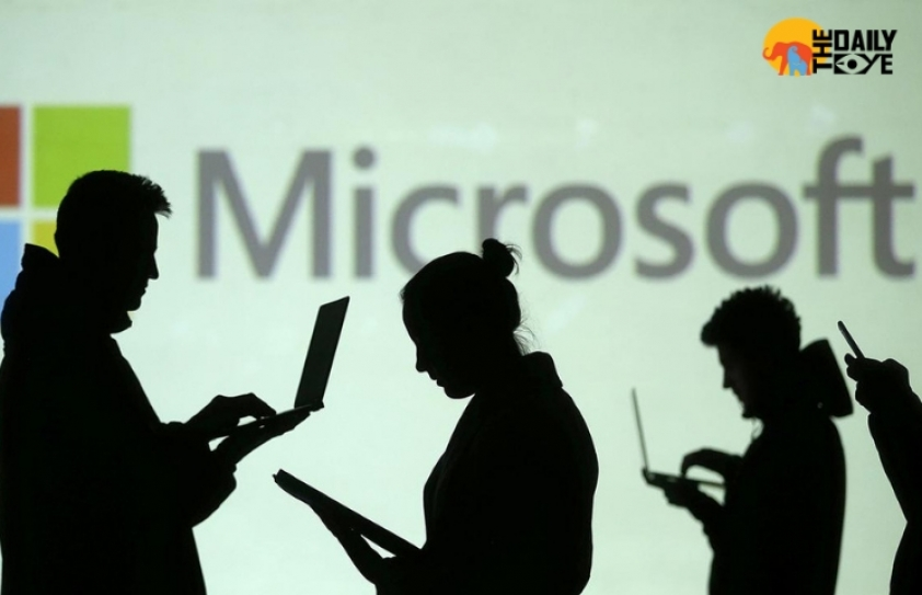 Microsoft employees protest discrimination and harassment at workplace
