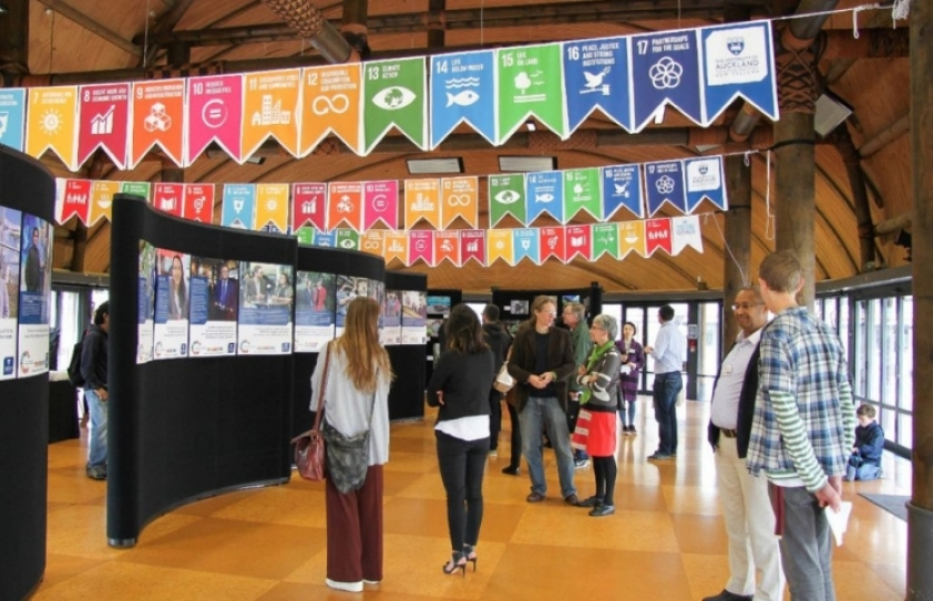 University of Auckland 'walks the talk' in promoting UN's 17 SDGs