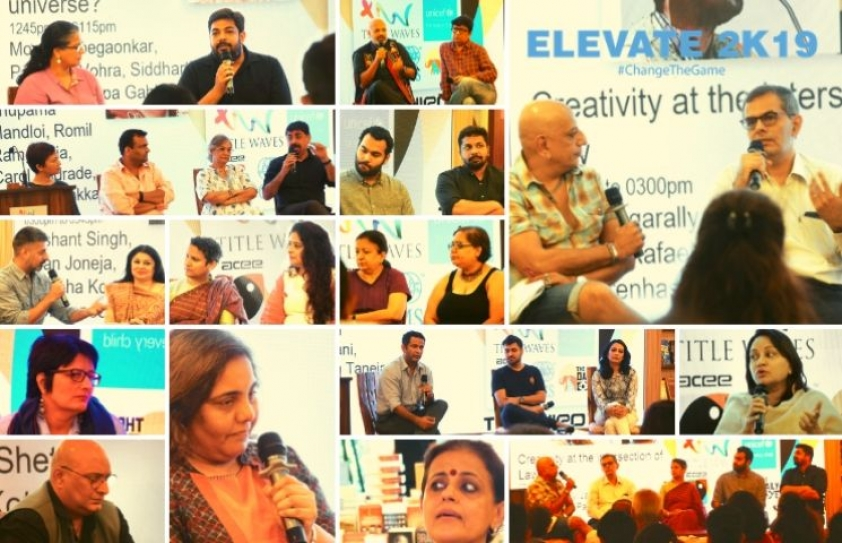 Elevate 2K19: Over 20 speakers took stage to explore different varieties of Storytelling