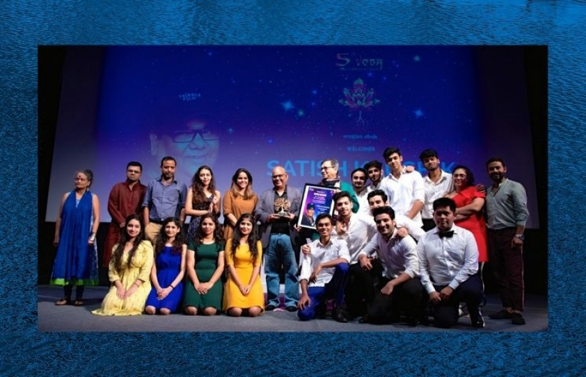 Satish Kaushik at Whistling Woods International