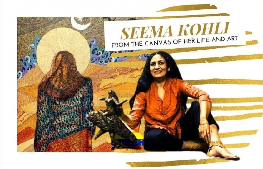 Seema Kohli: From the canvas of her life and art