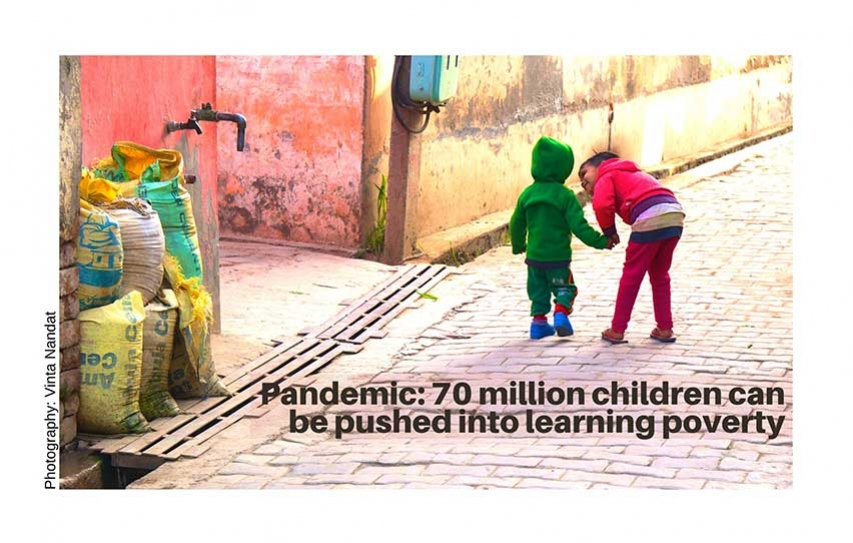 Pandemic: 70 million children can be pushed into learning poverty