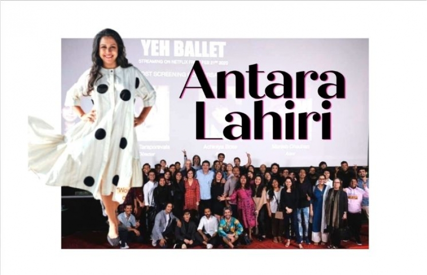 A Woman on the verge of abundance: Antara Lahiri