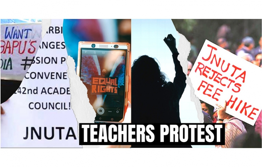 Teachers: Stop systematic destruction of JNU